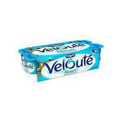Yaourts brassés natures Velouté DANONE, 8x125g