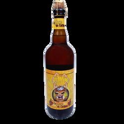 Bière blonde LA PISSE DE CARIBOU 6,9°, bouteille 750 ml