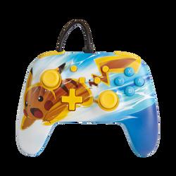 Manette fialire NINTENDO power a Pikachu charge pour nintendo switch