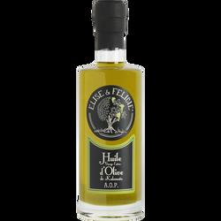 Huile vierge extra d'olive de Kalamata AOP ELISE ET FELICIE, bouteille 25cl