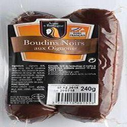 BOUDINS NOIRS AUX OIGNONS