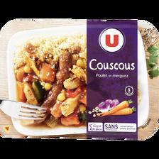Couscous U, barquette 300g
