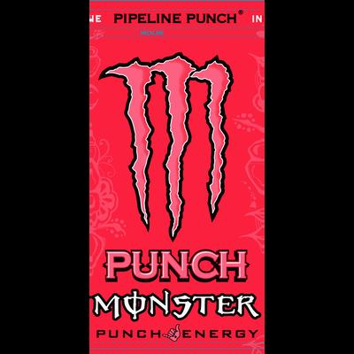 Boisson énergisante MONSTER Pipeline punch, boîte de 50cl