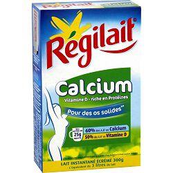 Lait écrémé en poudre spécial calcium REGILAIT, 300g