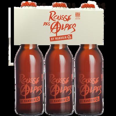 Bière rousse des Alpes by MANDRIN 5°, 3x33cl