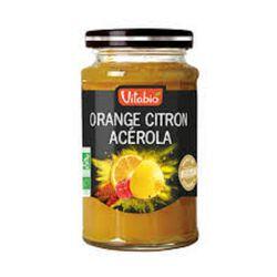 Confiture Bio Orange Citron Acérola Vitabio 290g