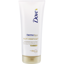 Lait corps nutri essence DOVE, flacon 200ml