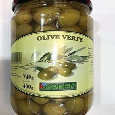 Olive verte 400g