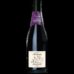 """Club de Vins et Terroirs Vin rouge AOP Beaujolais """"Château de Montmelas"""" , 75cl"""