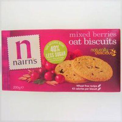 Biscuits Mixed Berries NAIRN'S,200g