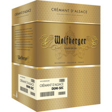 Wolfberger Crémant D'alsace Aop Brut , 75cl