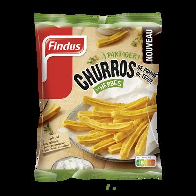 Churros de pomme de terre aux herbes FINDUS, 550g
