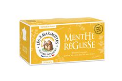 MENTHE RÉGLISSE, 42G - LES 2 MARMOTTES