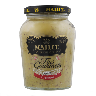 "Moutarde ""Fins Gourmets"" MAILLE, bocal de 340g"
