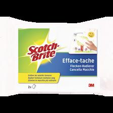 Eponge efface tache SCOTCH BRITE, x2