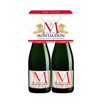 Montaudon Champagne Aop Brut Montaudon Bipakc, 2x75cl