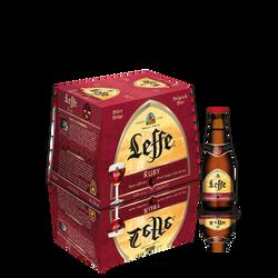 Bière Ruby ABBAYE DE LEFFE, 5°, pack de 12x25cl