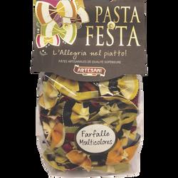Pasta festa farfalle multicolores ARTESANI, 250g