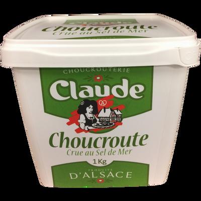 Choucroute crue en pot CHOUCROUTERIE CLAUDE, 1kg