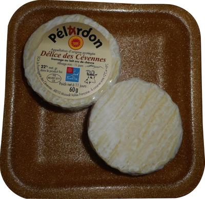 Pelardon AOP au lait cru de chèvre, 22%mg, x2 bq polybronze 120g