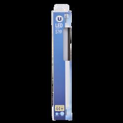 Led U, tube, s19, 45w, lumière chaude