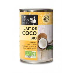 Lait de Coco 22% Matière grasse Bio LE COQ NOIR 400ml