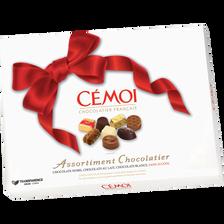 Cémoi Chocolat Noeud Rouge , Boîte De 445g
