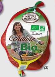 ECHALOTTE BIO, CALIBRE 3/5, FILET