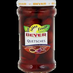 Quetshes au sirop BEYER, bocal de 660ml, 350g