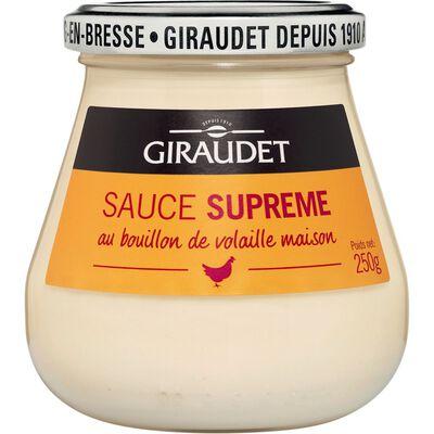 Sauce suprême GIRAUDET, bocal de 250g