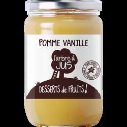 Compote pomme vanille L'ARBRE A JUS, bocal de 620g