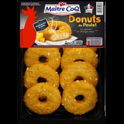 Donuts de poulet, MAITRE COQ, Barquette de 800g
