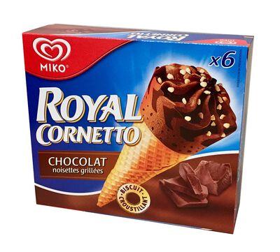 CONE RC CHOCOLAT X6