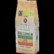 Sati Café Moulu Moka Sidamo Bio Max Havelaar , Paquet De 250g