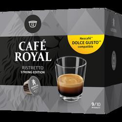 Café ristretto compatibles dolce gusto CAFE ROYAL, boîte de 74g