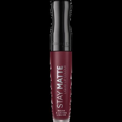 Rouge à lèvres stay matte liquid lip colour 860 urban affair RIMMEL, nu