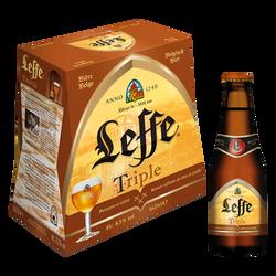 Bière Triple ABBAYE DE LEFFE, 8,5°, 6x25cl