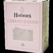 Cabernet d'Anjou AOC rosé Domaine Des Hardières, bouteille de 75cl