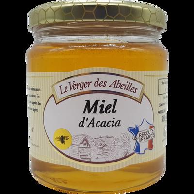 Miel d'acacia de France LE VERGER DES ABEILLES, 350g