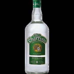Rhum blanc d'assemblage CHARRETTE, 49°, 1,5l
