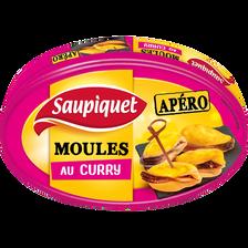 Saupiquet Moules Au Curry, , Boîte De 110g