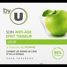 Crème de jour anti-age effet tenseur BY U, pot de 50ml