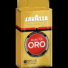Café moulu Qualita Oro LAVAZZA, paquet de 250g