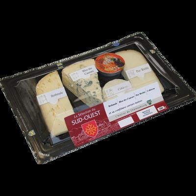 Assiette fromagère sélection Sud Ouest, 280g