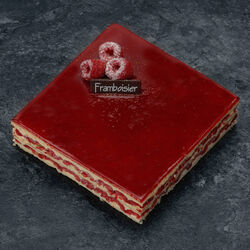 Framboisier, 4 parts, 600g