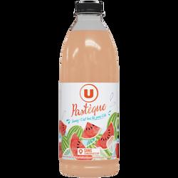 Boisson au jus pastèque flash pasteurisé refrigéré U, 75cl