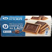 LU Petit Beurre Tablette Chocolat Lait U, 150g