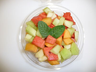 Salade de fruits ensoleillés