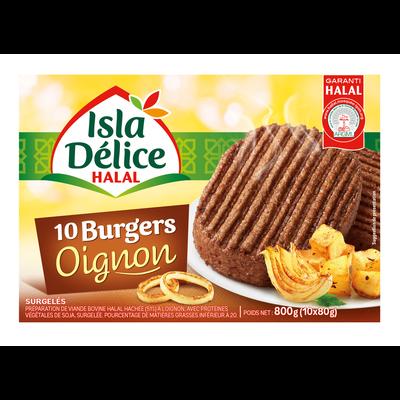 Burger oignon halal ISLA DELICE, 800g