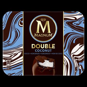 Magnum Glace Bâtonnets Magnum Double Coco X4